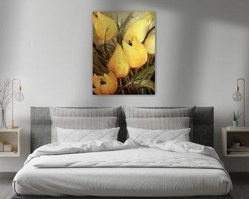 Gele tulpen van Christine Nöhmeier