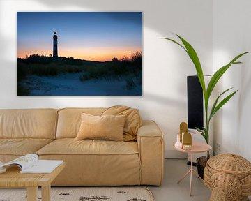 Leuchtturm von Wittdün, Amrum, Deutschland von Alexander Ludwig