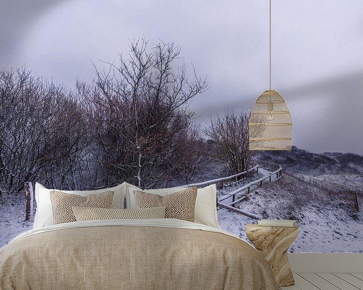 Impression: L'hiver à Texel - Phare d'Eierland sur Texel360Fotografie Richard Heerschap