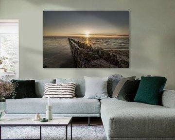 Mooie Zonsondergang van Marian van der Kallen Fotografie