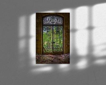 Eingangstür zum Zentralbüro von Karl Smits