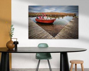 Fischerboot im Hafen von Althagen auf dem Fischland-Darß von Rico Ködder