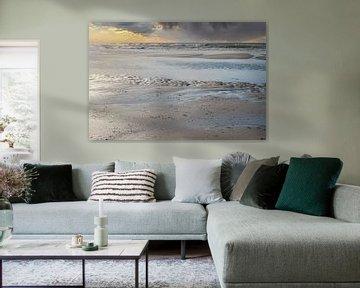Strand, Meer und schöner Himmel von Anouschka Hendriks