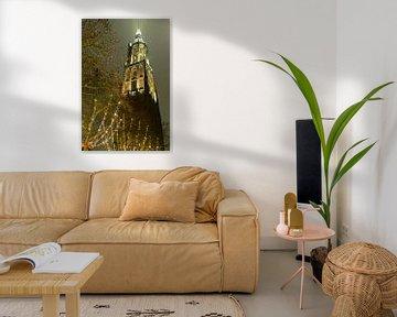 Onze lieve Vrouwen Toren in Amersfoort van Ton Tolboom