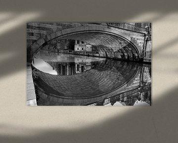 Gent, St. Michaelsbrücke von Ruurd Corpel