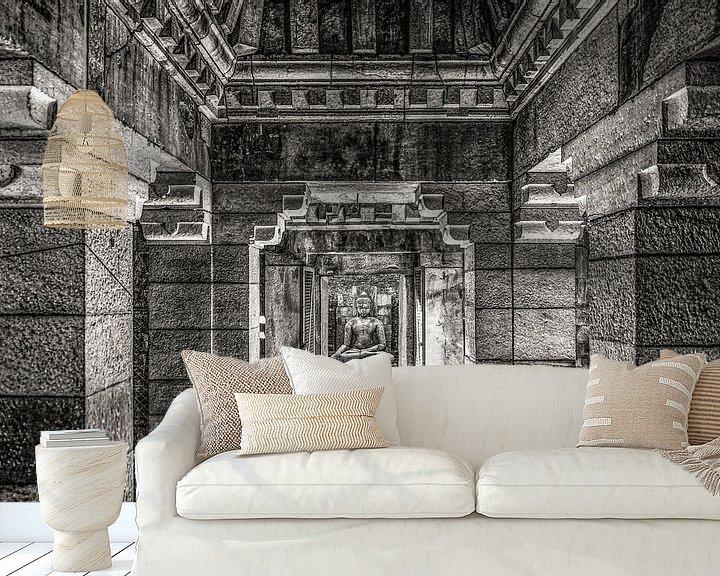 Sfeerimpressie behang: Oosterse tempel van Affect Fotografie