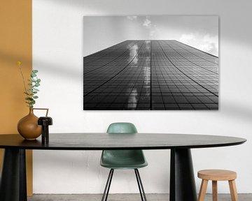 Wolken im Wolkenkratzer von Marcel Kerdijk