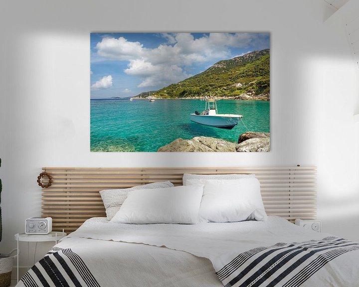 Sfeerimpressie: Kustlandschap op het eiland Elba van Peter Eckert