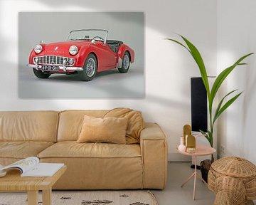 Triumph TR3 1961 van Willem van Holten