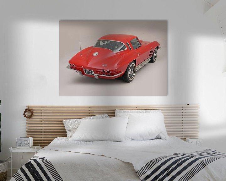 Sfeerimpressie: Chevrolet Corvette C2 1964 van Willem van Holten