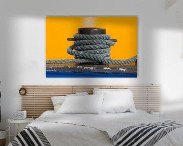 Blue, yellow & rope van Hillebrand Breuker