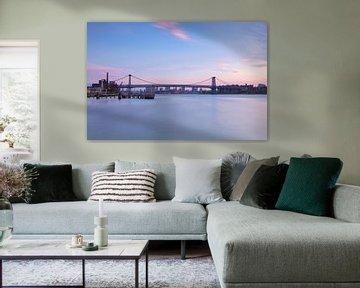 Williamsburg Bridge  (New York City) van Marcel Kerdijk