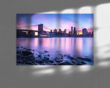 L'horizon de la ville de New York sur Marcel Kerdijk