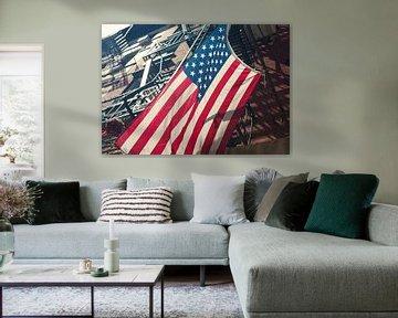 Flagge USA (New York) von Marcel Kerdijk