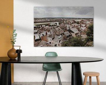 Blois uitzicht Frankrijk van Amber den Oudsten