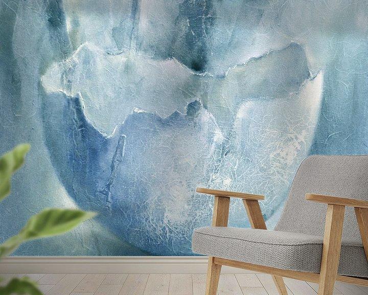 Sfeerimpressie behang: Eierschaal van Annette Schmucker