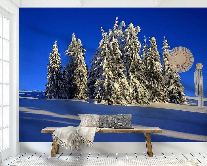 Beispiel fototapete: Wintertraum Feldberg von Patrick Lohmüller