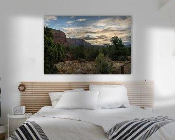 Sedona Dämmerung Arizona von Ton Tolboom