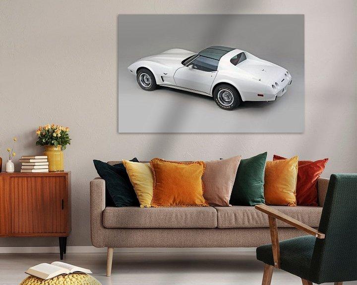 Sfeerimpressie: Chevrolet Corvette C3 1977 van Willem van Holten
