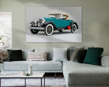 Buick Super Six Roadster 1927 von Willem van Holten