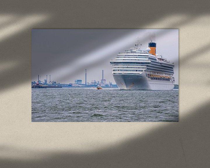 Sfeerimpressie: Cruiseship Costa Fortuna van Brian Morgan