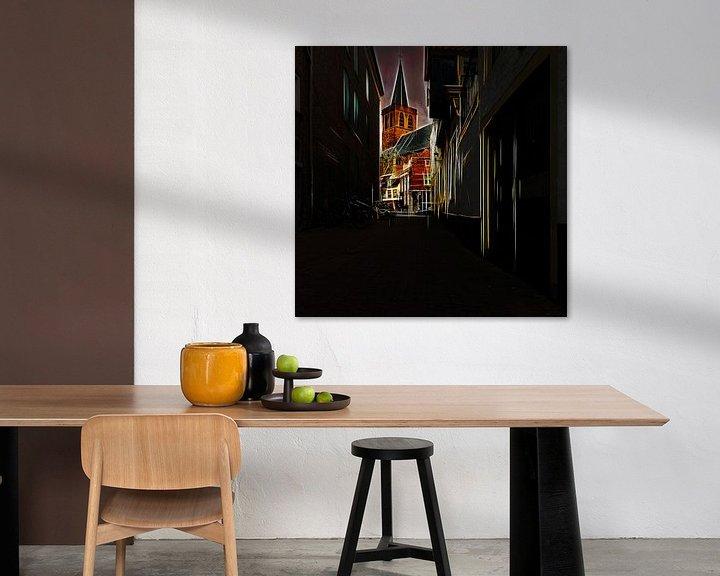 Sfeerimpressie: Amersfoort -1 van Dick Jeukens