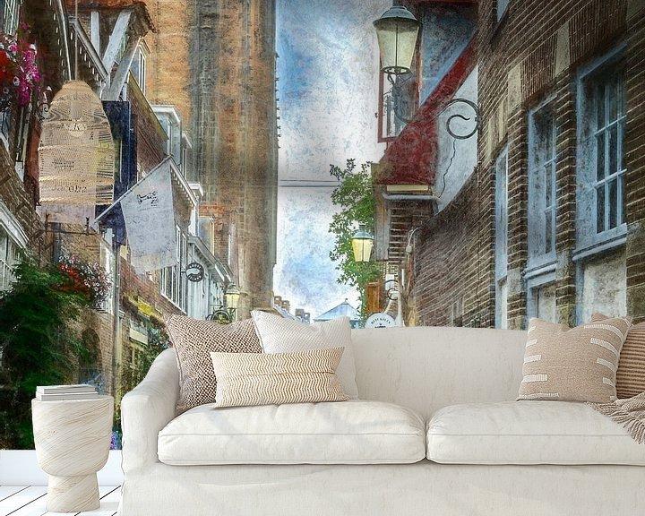 Sfeerimpressie behang: Amersfoort -3 van Dick Jeukens