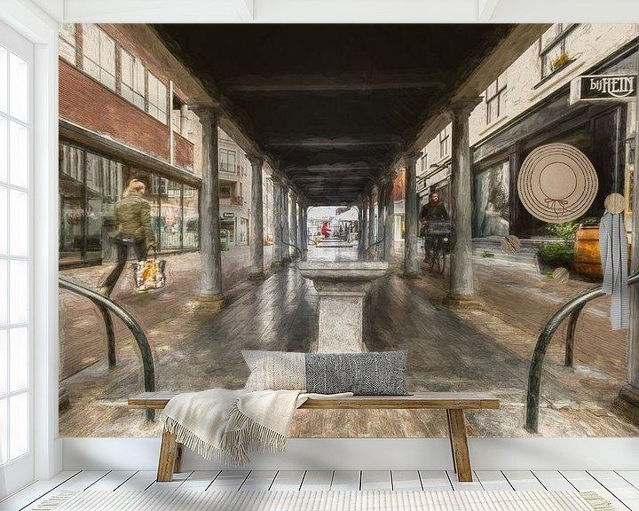 Sfeerimpressie behang: Amersfoort -4 van Dick Jeukens