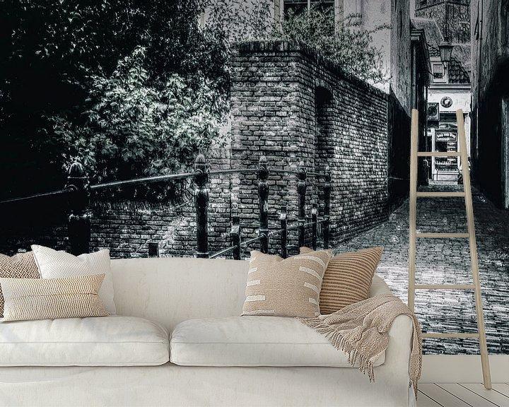 Sfeerimpressie behang: Amersfoort -7 van Dick Jeukens