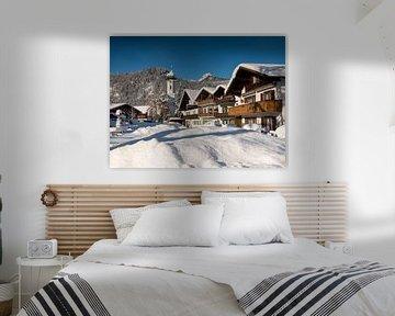 Winter in Farchant von Andreas Müller