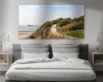 Sentier à travers les dunes sur Percy's fotografie