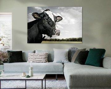 Landschaft mit Kuh von Everards Photography