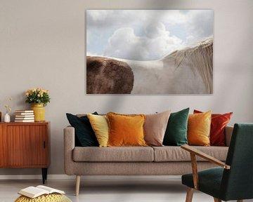Landschaft mit Pferd von Everards Photography