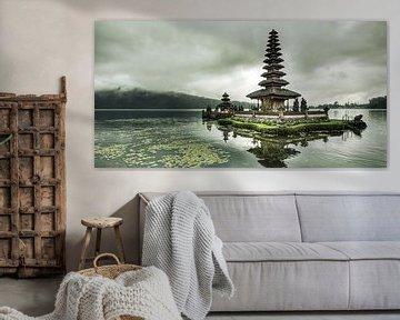 Pura ulun danu bratan tempel in Indonesië van Everards Photography
