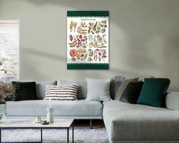 Vegetable Encyclopedia - all types of vegetables, von Ariadna de Raadt