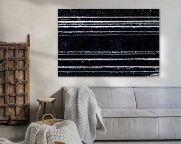 Grafische en abstracte lijnen in het ijs van Michèle Huge
