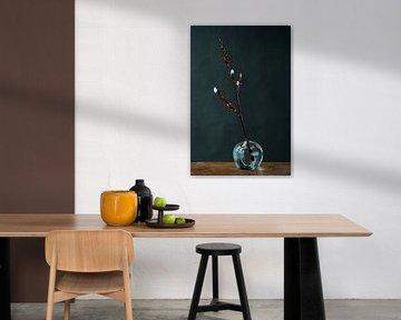 Foto print   wilgenkatjes   modern   botanisch   bloemen   fotografie