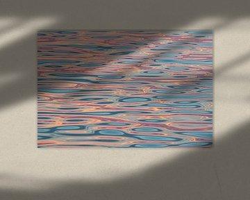 Zonsondergang op het Wad van Michèle Huge