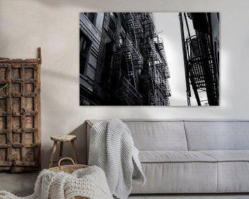 Feuerleitern - New York City von Marcel Kerdijk