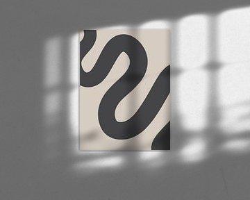 Curvy Line - Impression minimaliste