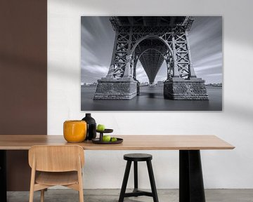 Williamsburg-Brücke - New York City von Marcel Kerdijk