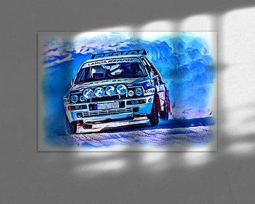 Lancia Rally von Jean-Louis Glineur alias DeVerviers