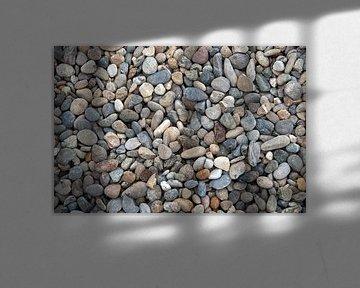 achtergrond van kiezels van Compuinfoto .