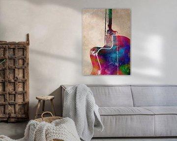 Gitarre 11 Musikkunst #Gitarre #Musik von JBJart Justyna Jaszke