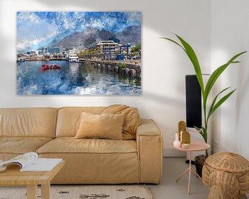 V&A Waterfront Kaapstad van gea strucks