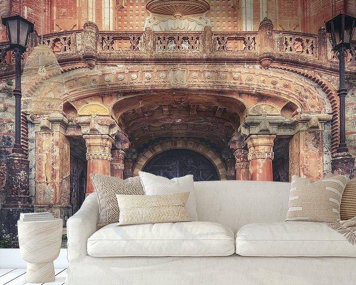 Beispiel fototapete: Verlassenes Castello von Frans Nijland