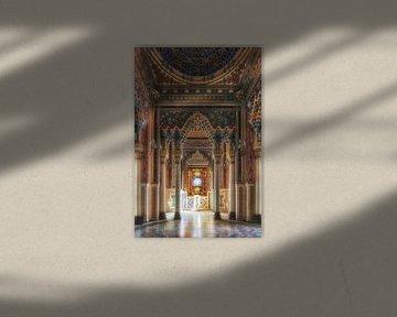 Verlassene maurische Burg von Frans Nijland