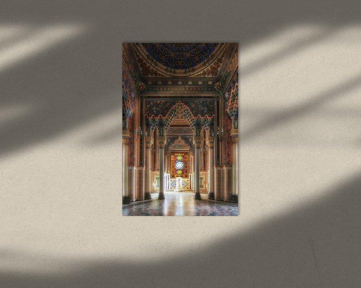 Beispiel: Verlassene maurische Burg von Frans Nijland