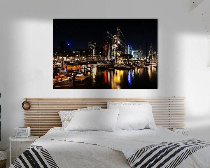 Sfeerimpressie: Rotterdam Maashaven van Brian Morgan