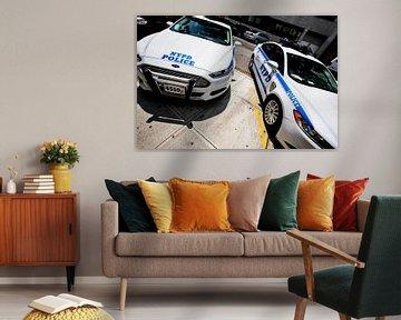 Politieauto  (New York City) van Marcel Kerdijk